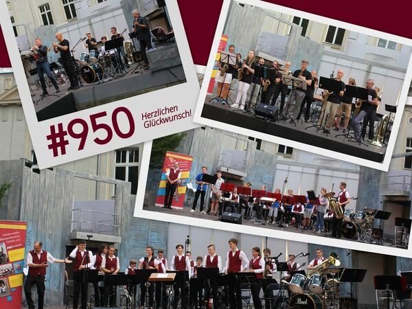 Geburtstagsständchen zu 950 Jahren Görlitz
